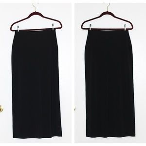 Banana Republic Black Maxi Skirt XS